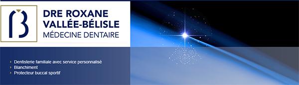 Clinique dentaire Roxane Vallée-Bélisle en Ligne
