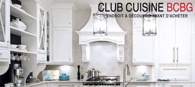 Club Cuisine BCBG - Armoires de Cuisine - Salles de Bain