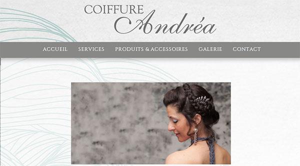 Coiffure Andréa en ligne