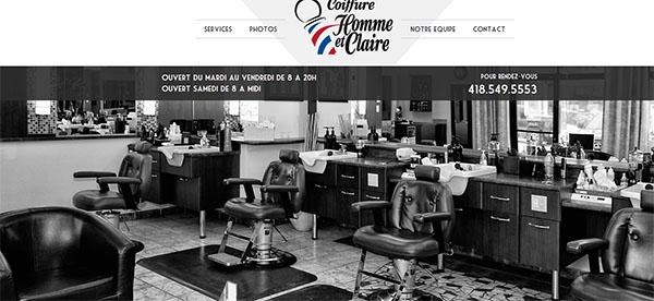 Coiffure Homme et Claire en ligne