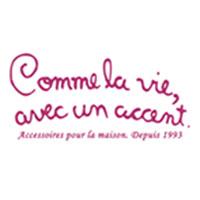 Logo Comme la Vie, avec un Accent