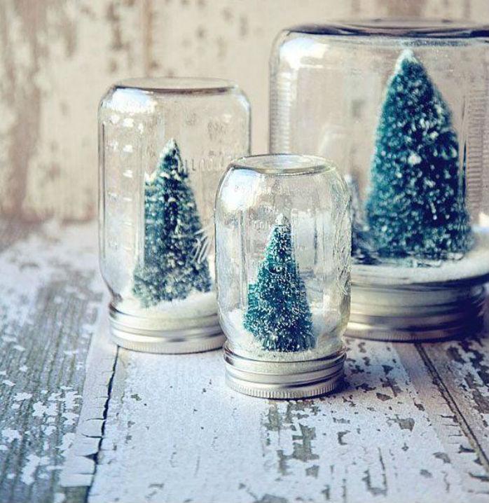 Comment Créer son Propre Globe de Noël avec un Pot Mason