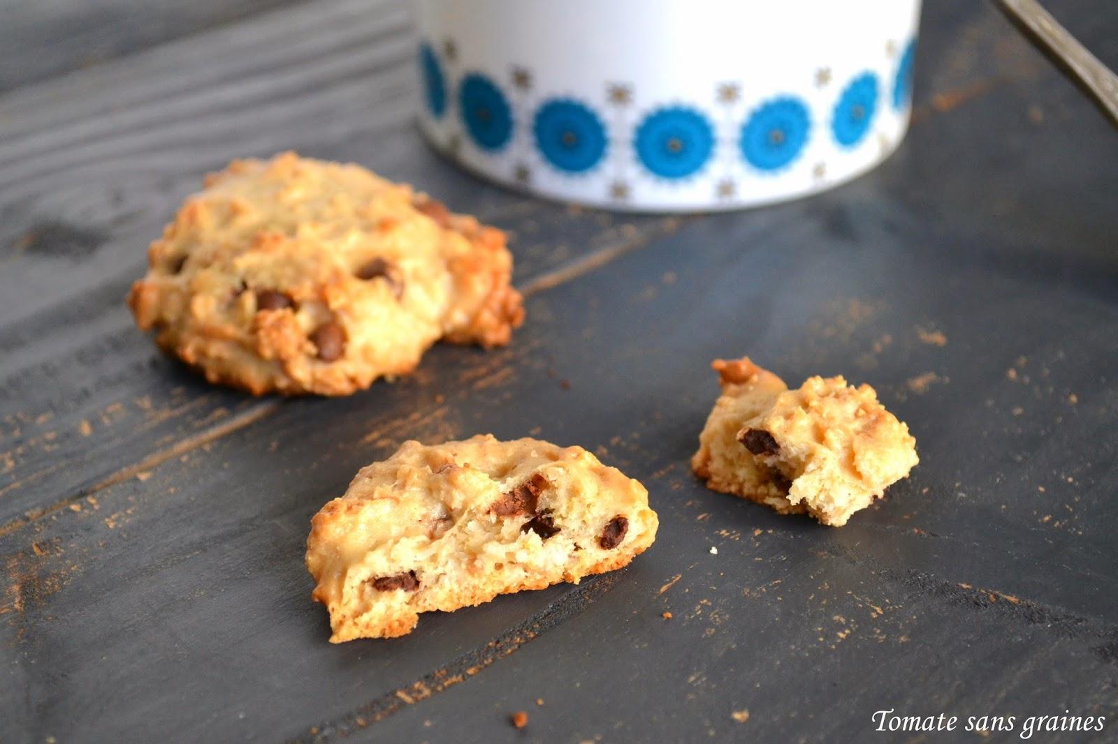 Cookies végétaliens 3C {coco-cajou-cacahuète}