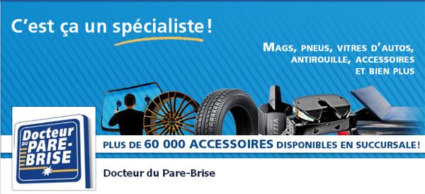 Dr Du Pare Brise >> Docteur Du Pare Brise Accessoires Autos Camions Circulaire