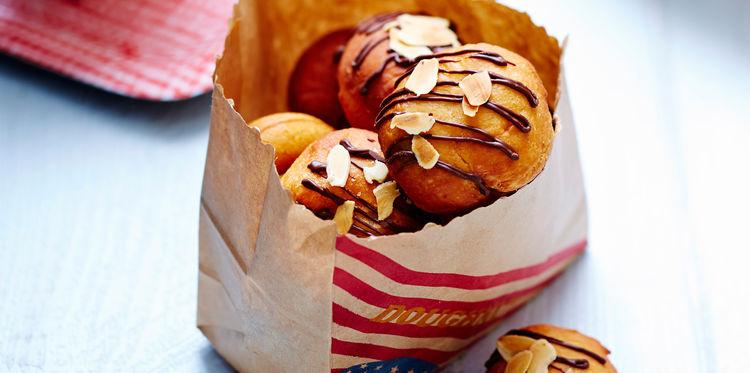 Donuts au Nutella et aux Amandes