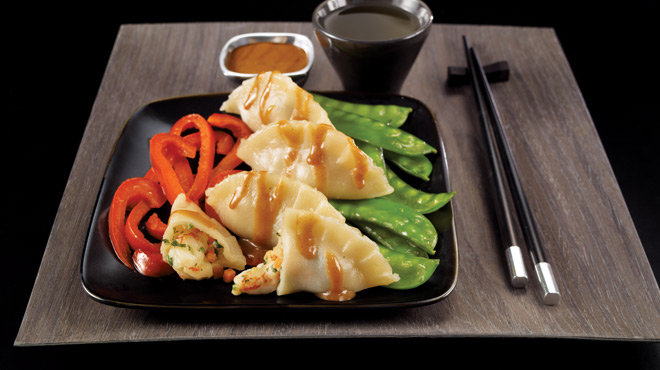 Dumplings aux Crevettes
