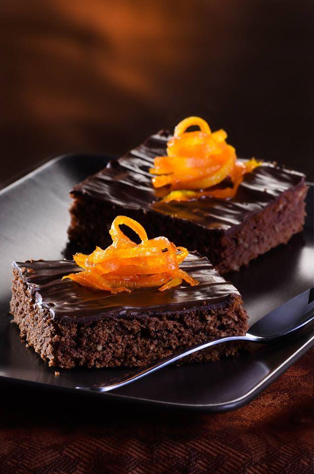 Photo Recette Fondant au Chocolat à L'orange