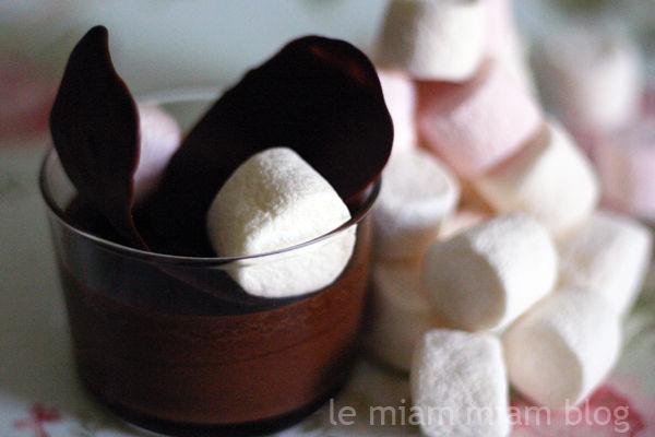 Fondue au Chocolat et Guimauve