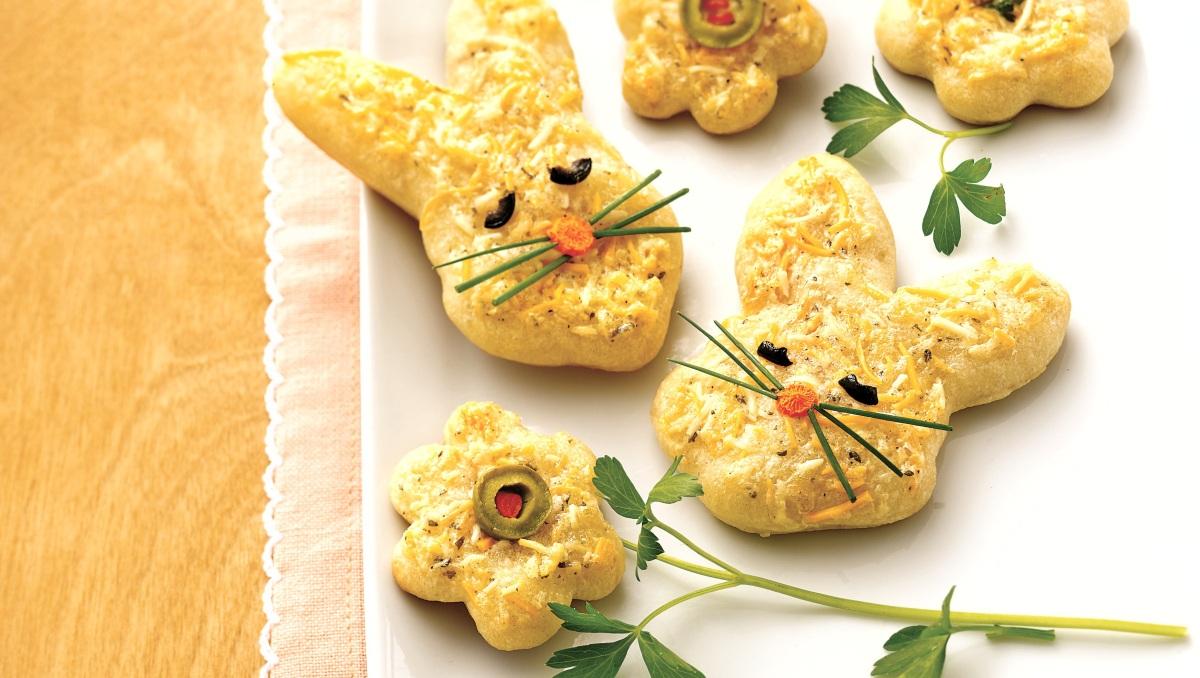 Photo Recette Formes de Pâques au Fromage