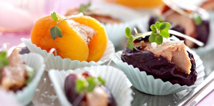Fruits Déguisés au Foie Gras