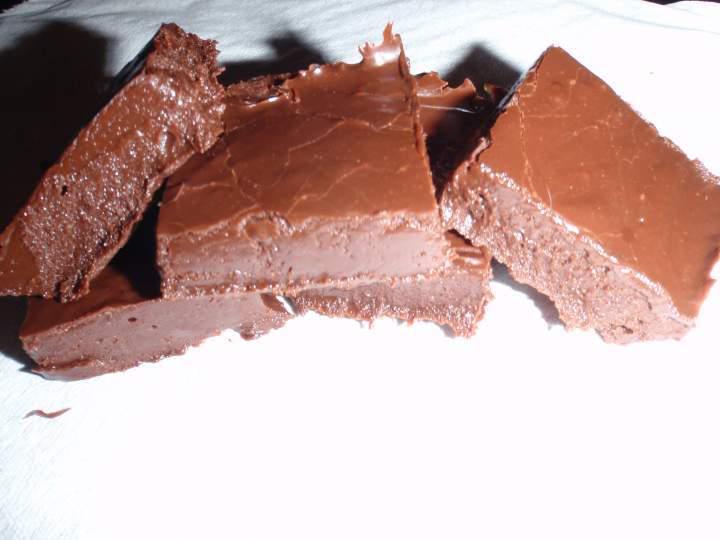 Fudge au Chocolat à L'ancienne, sans Noix