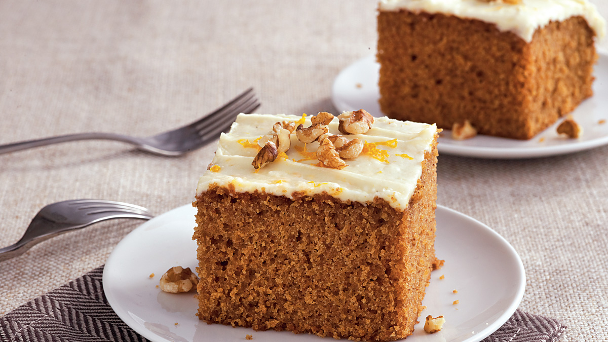 Photo Recette Gâteau Épicé à L'érable avec Glaçage à L'érable