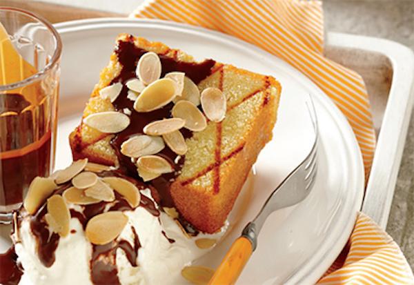 Gâteau Grillé, Sauce Choco-espresso