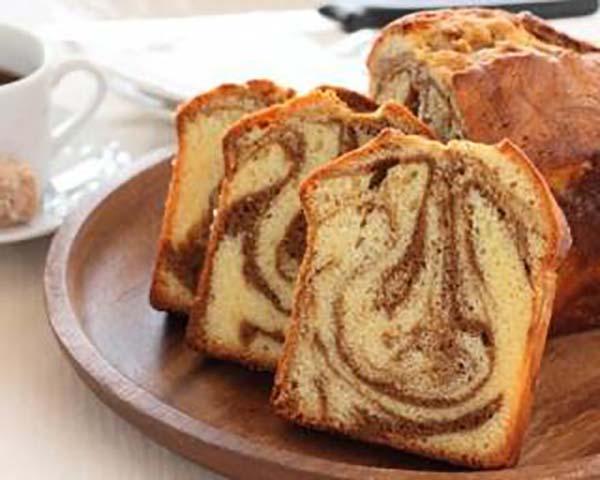 Gâteau Marbré Allégé au Café