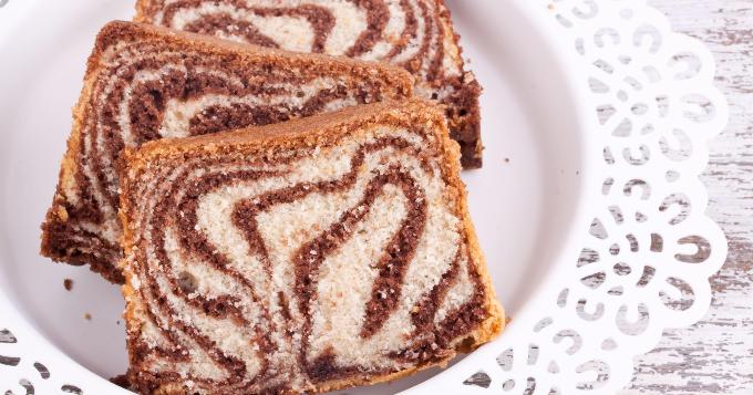 Gâteau Marbré au Thermomix