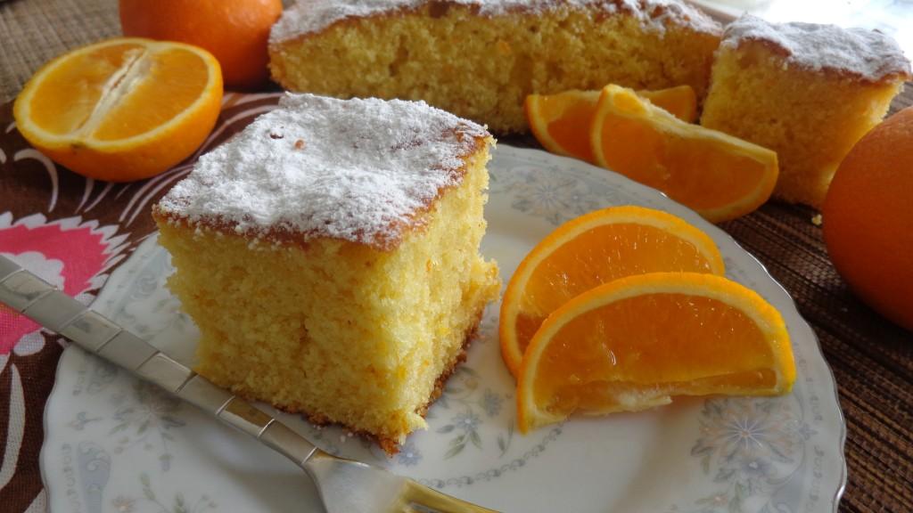 Gâteau Orange & Huile D'Olive