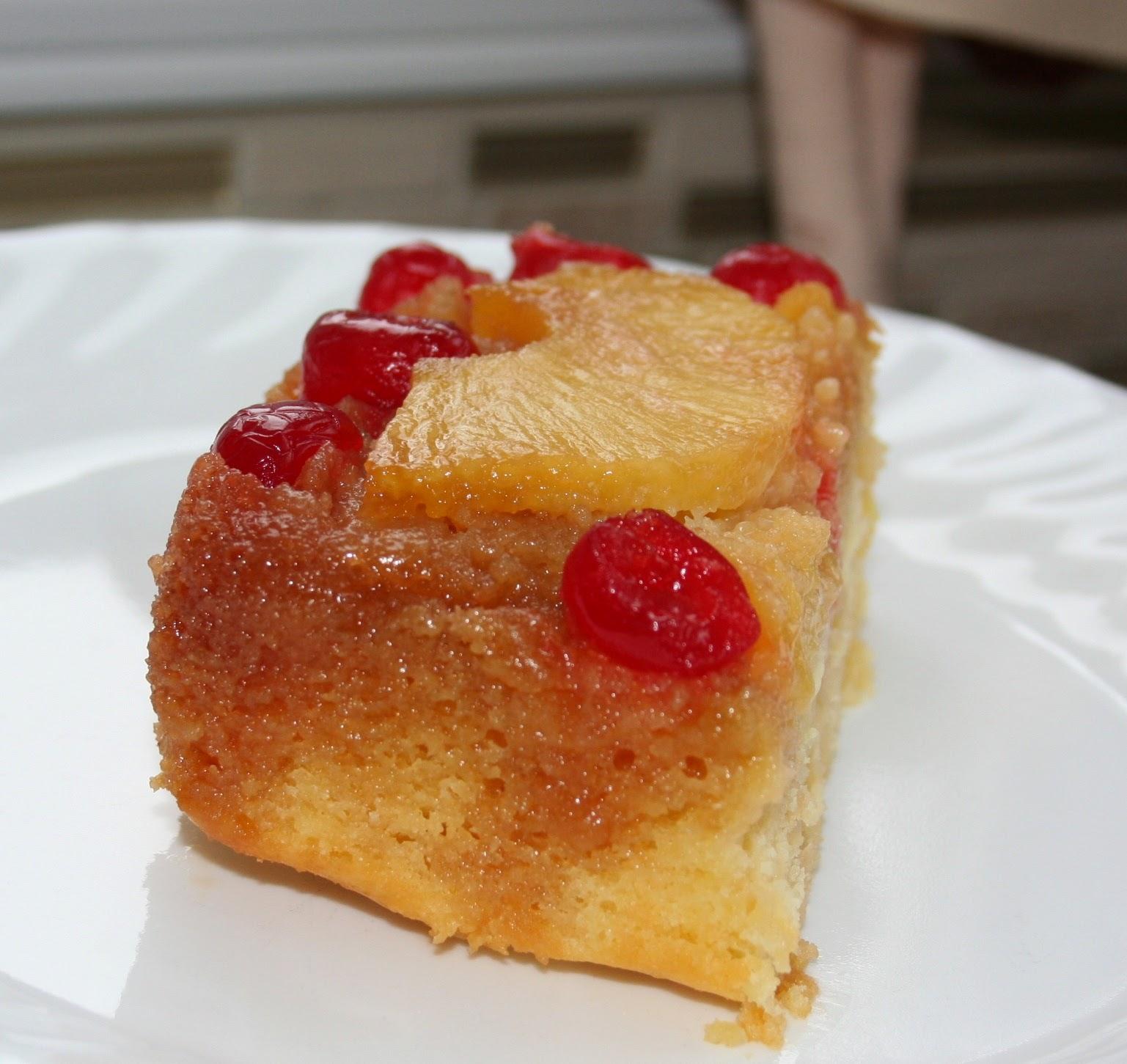 Photo Recette Gâteau Renversé aux Ananas