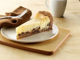 Gâteau au Fromage au Citron et aux Grains de Chocolat