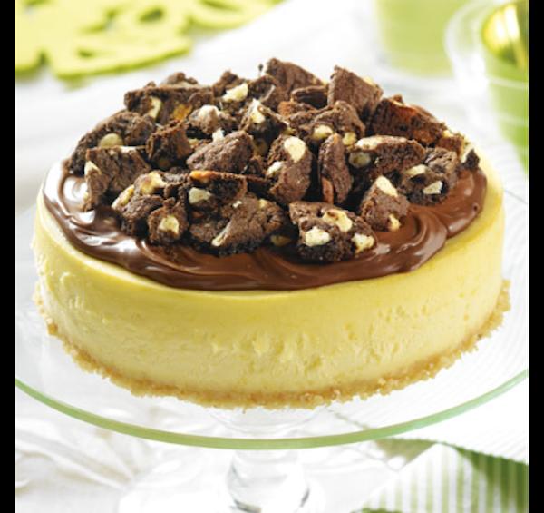 Gâteau au Fromage aux biscuits Chocolat Noisette