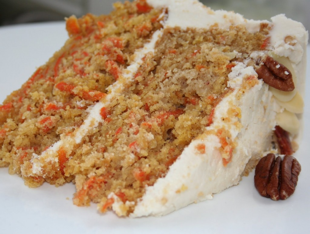 Gâteau aux Carottes et à L'érable, Glaçage Crémeux à L'érable