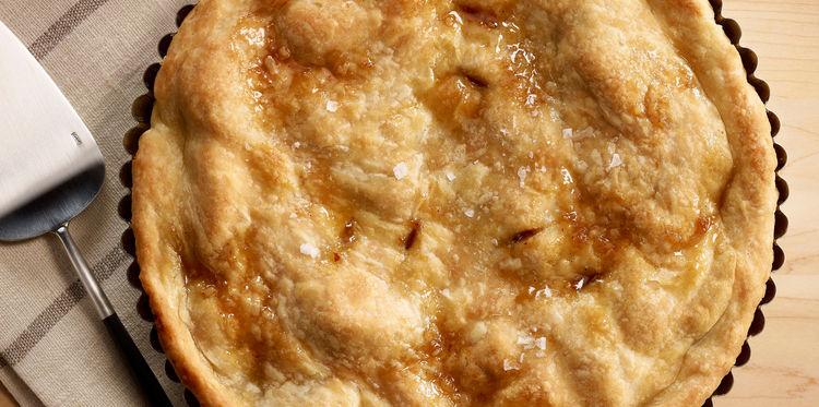 Photo Recette Gâteau aux Pommes Caramélisées