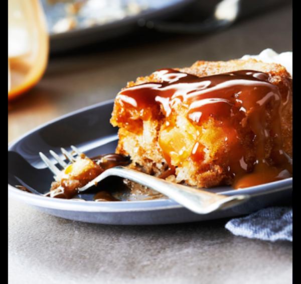 Gâteaux aux Pommes et au Dulce de Leche
