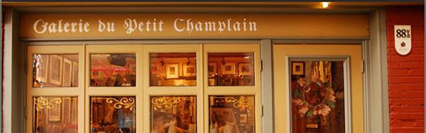 Galerie d'art du Petit Champlain en ligne