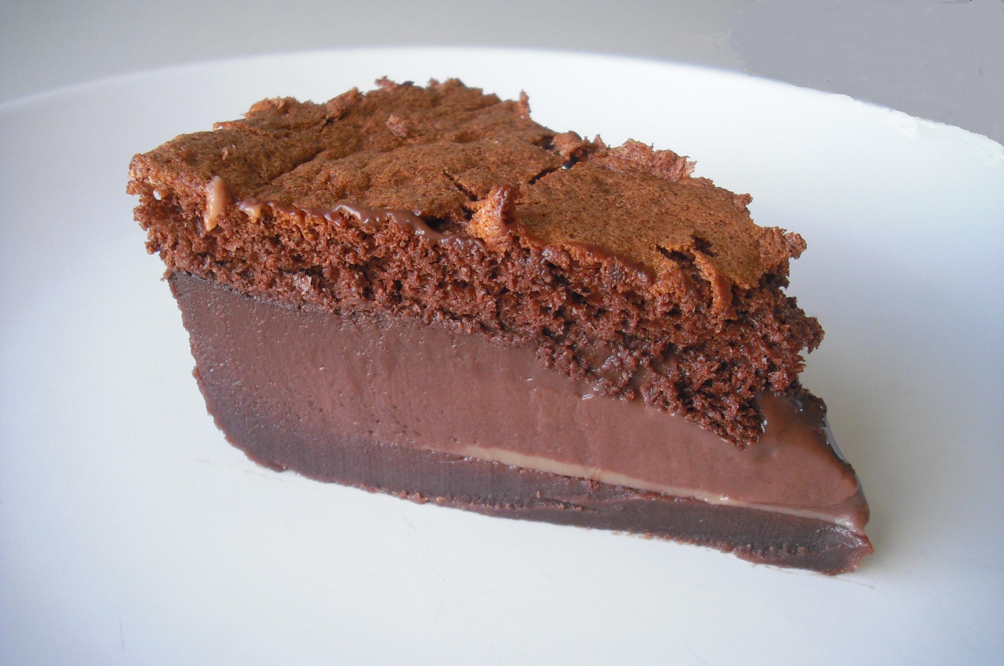 Photo Recette Gateau Magique au Chocolat