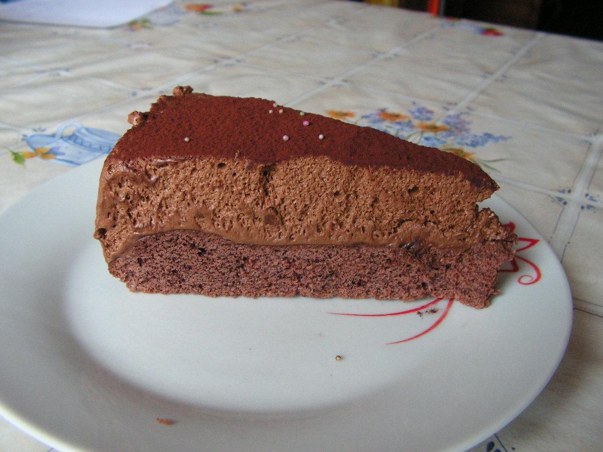 Gâteau Mousse aux Trois Chocolats