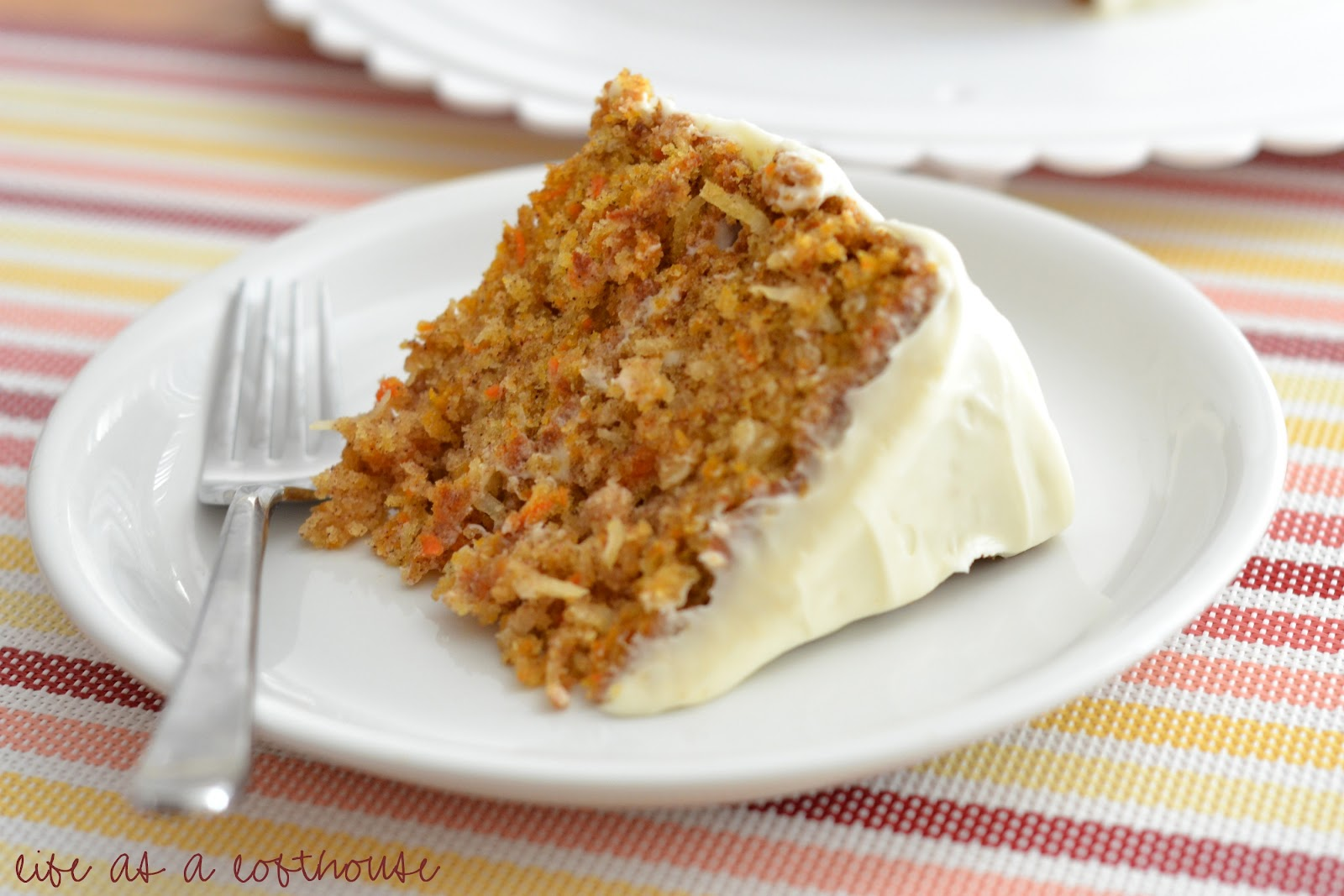 Recette Gâteau aux Carottes