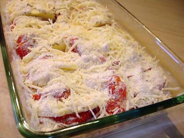 Gratin aux Pommes de Terre et aux la Tomates