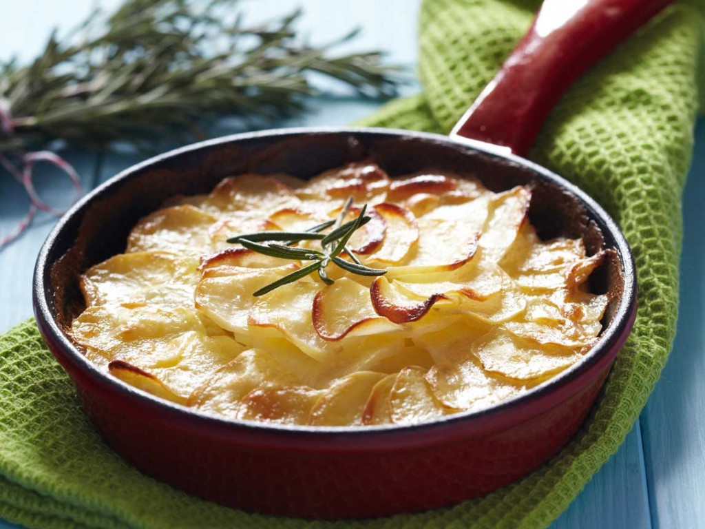 Gratin Dauphinois Trois Fromages