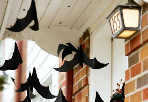 Halloween : Chauves-Souris à Suspendre