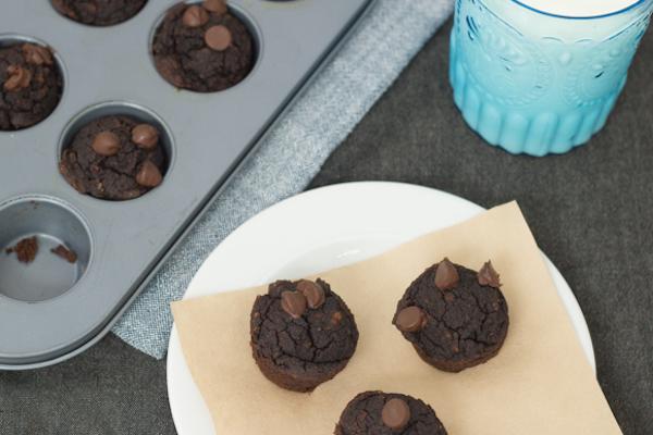 Petits Brownies aux Noisettes sans Gluten
