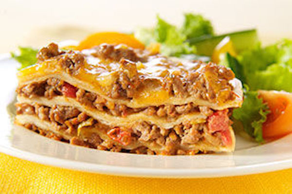 Lasagnes au Fromage à la Mexicaine