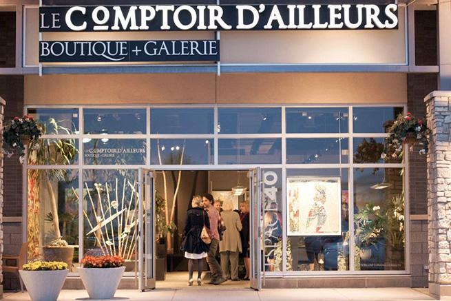 Le Comptoir D'ailleurs - Boutique + Galerie