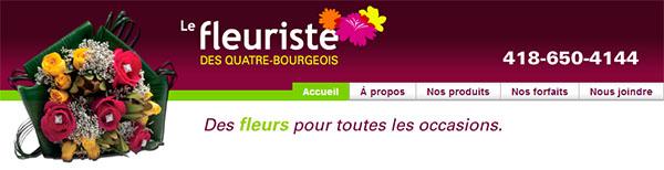 Le Fleuriste des Quatre-Bourgeois