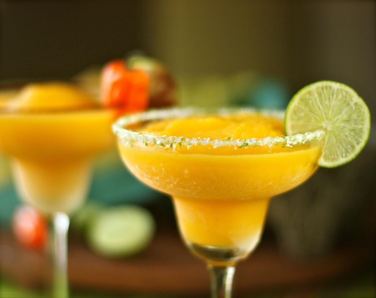 Margarita à la Mangue
