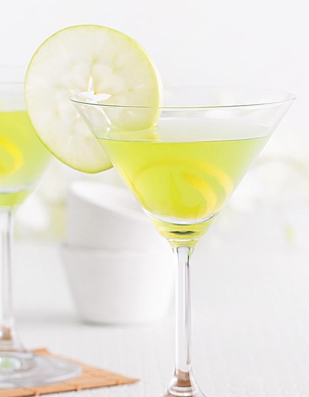 Martini Sour à la Pomme