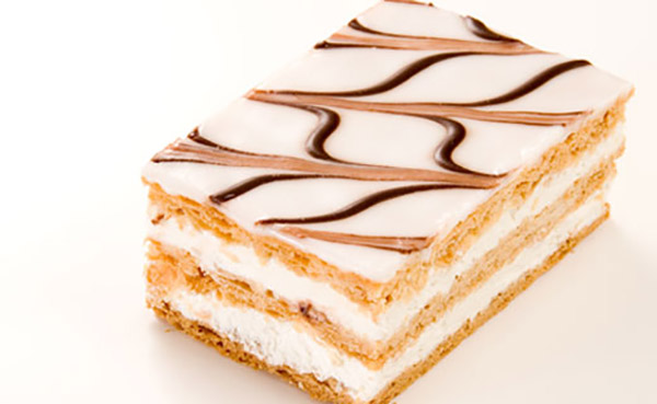 Mille-feuilles aux Biscuits Graham
