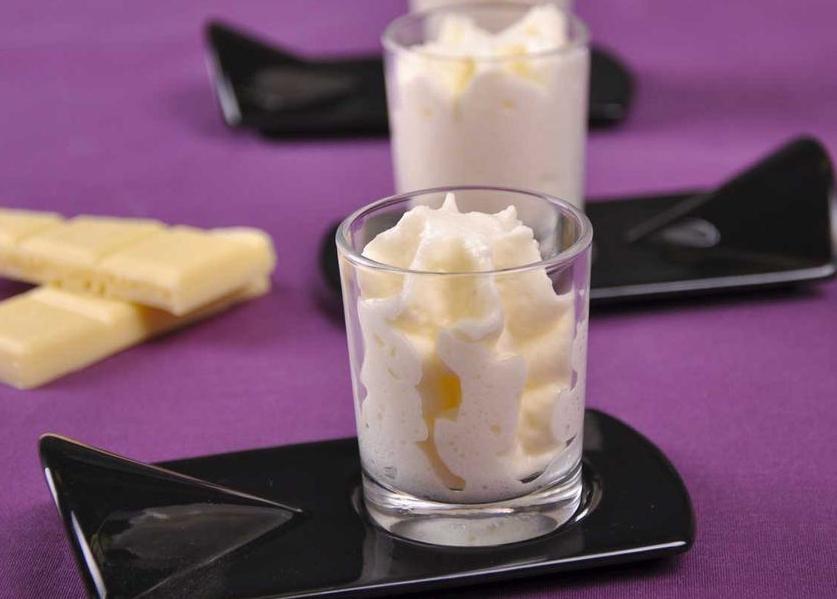 Photo Recette Mousse au Chocolat Blanc