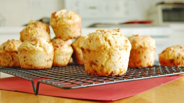 Photo Recette Muffins Cheddar et Oignons