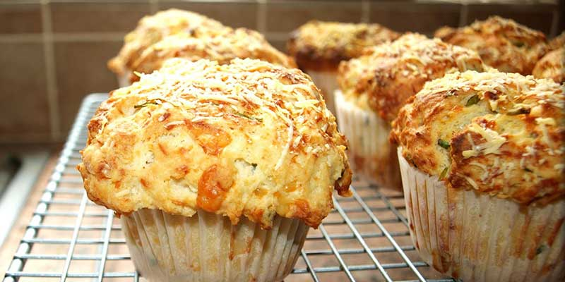 Muffins Salés Fromage Oignon