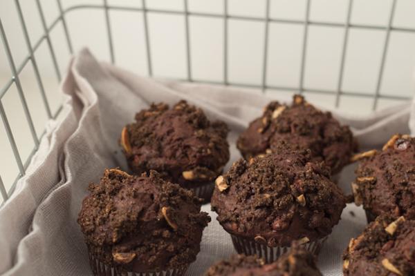 Muffins au Moka et au Chocolat