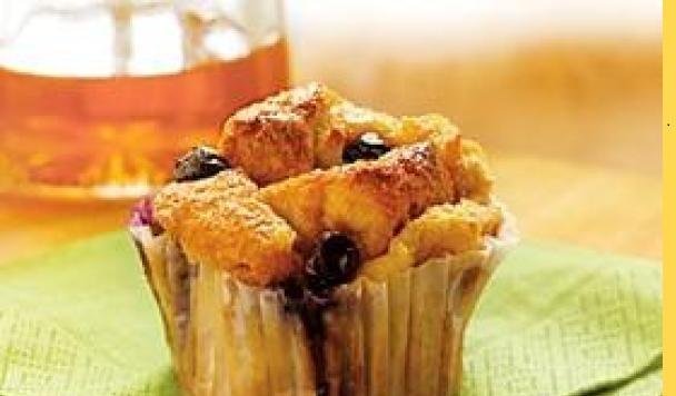 Muffins aux petits fruits de SMART