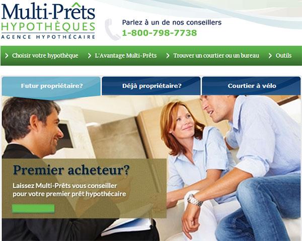 Multi-Prêts Hypothèques en ligne