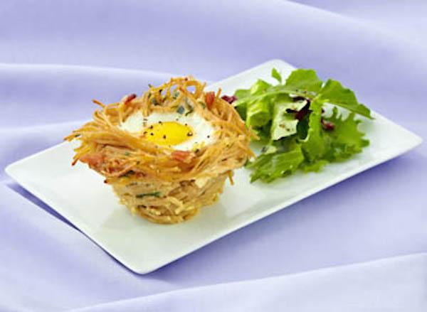 Photo Recette Pâtes aux Grains Entiers, Spaghettini en Nids Catelli® Moisson Santé®
