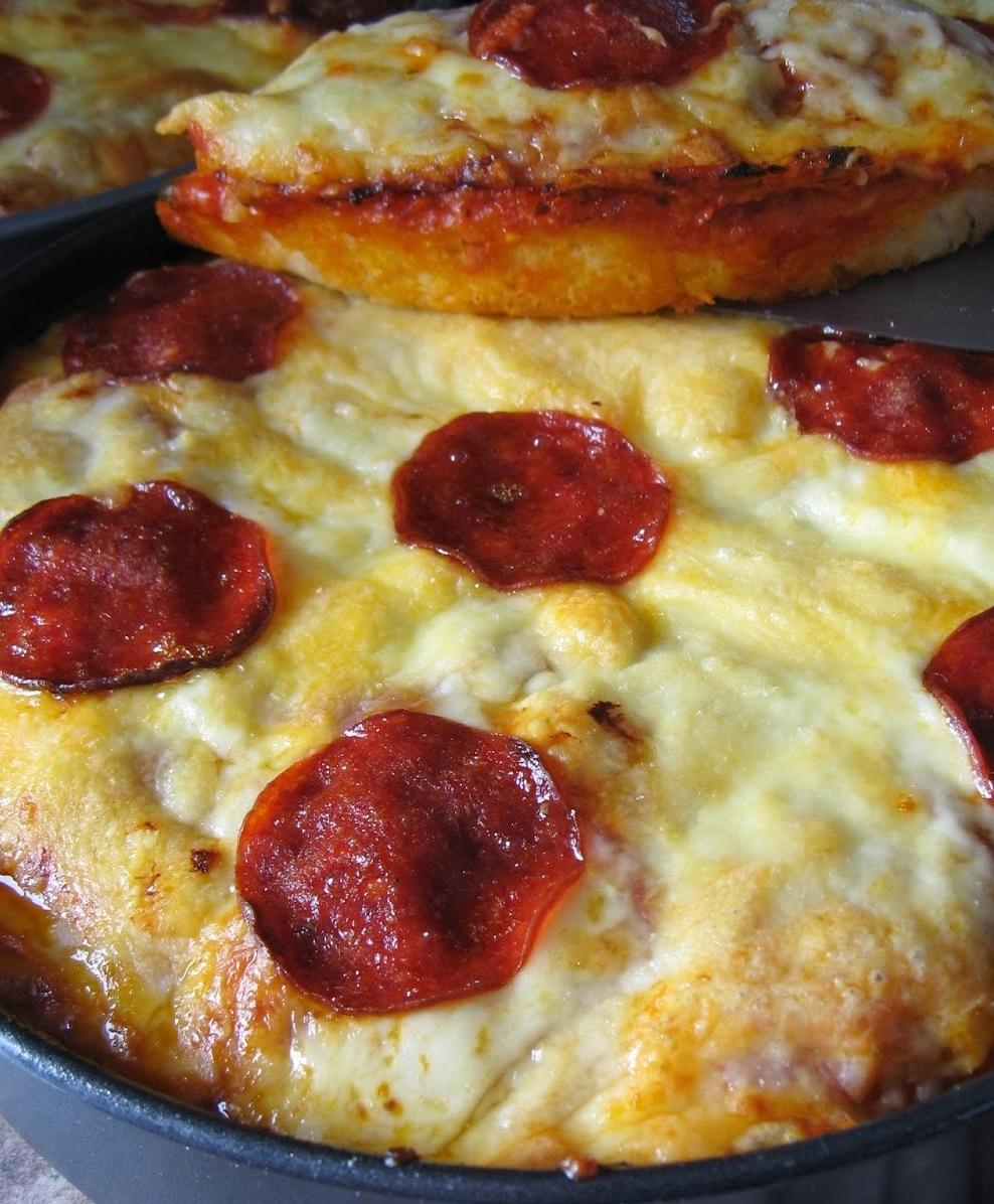 Pan Pizza Maison