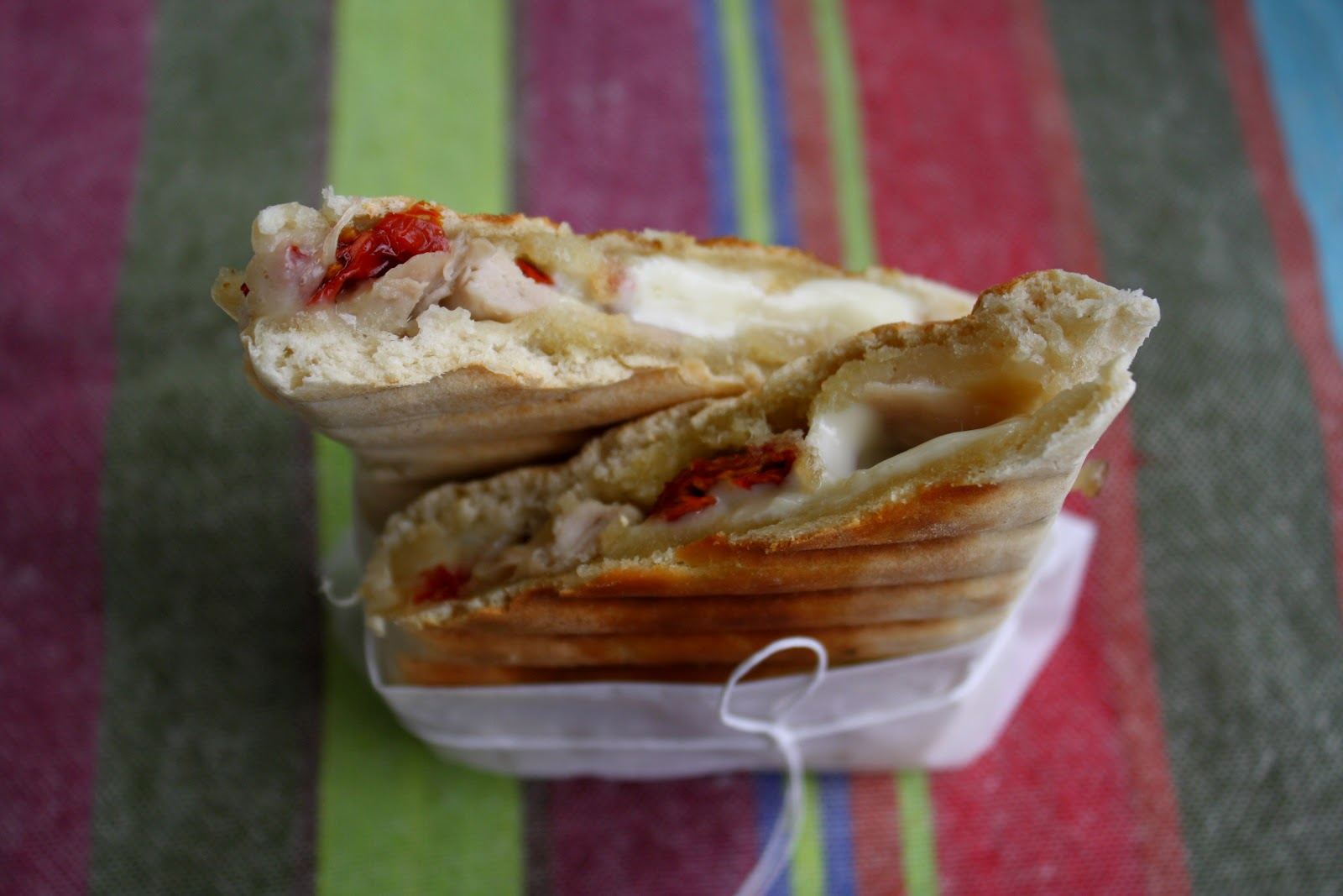 Photo Recette Panini au Poulet, à la Mozzarella et au Pesto Citronné