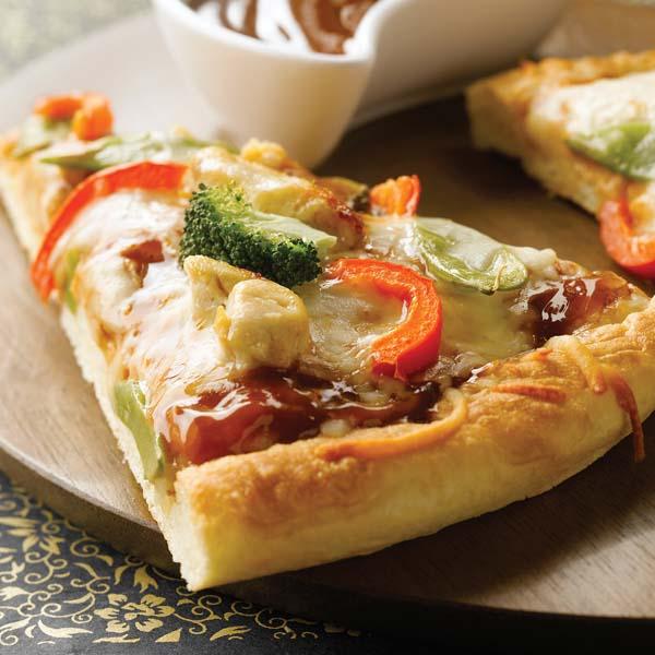 Pizza aux 5 Épices d'Asie